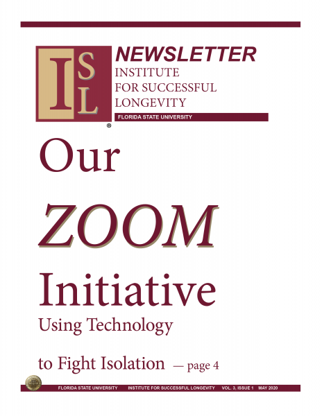 Zoom newsletter art